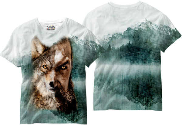 Adults Manwolf Sublimation T-Shirt - Vivid Sportswear