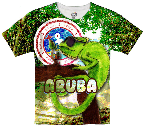 Kids Iguana Sublimation T-Shirt - Vivid Sportswear