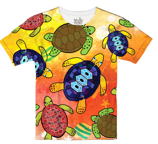 Turtle Watercolor T-Shirt