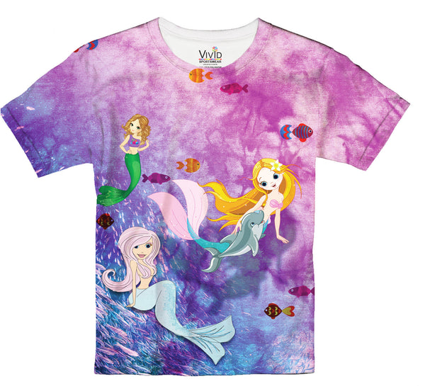 Mermaid Girls T-Shirt - Vivid Sportswear