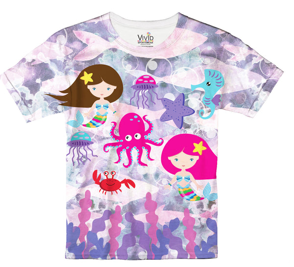 Mermaids and Friends T-Shirt - Vivid Sportswear
