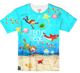 Kids Underwater Sublimation T-Shirt - Vivid Sportswear