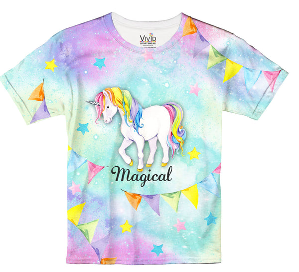 Magical Unicorn T-Shirt - Vivid Sportswear
