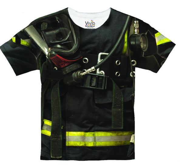 Fire Fighter Sublimatin T-Shirt - Vivid Sportswear