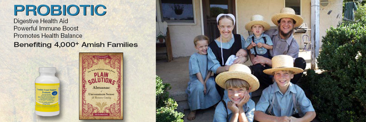 Amish Solutions Probiotic