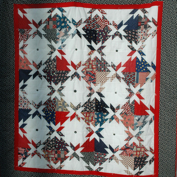 Patriotic Quilt, Amish Solutions