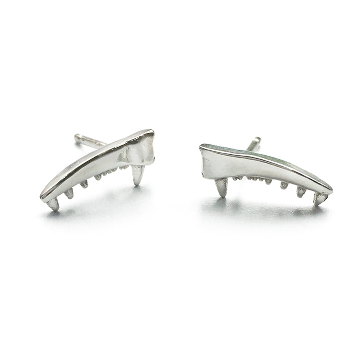MICRO BARRACUDA STUD EARRINGS