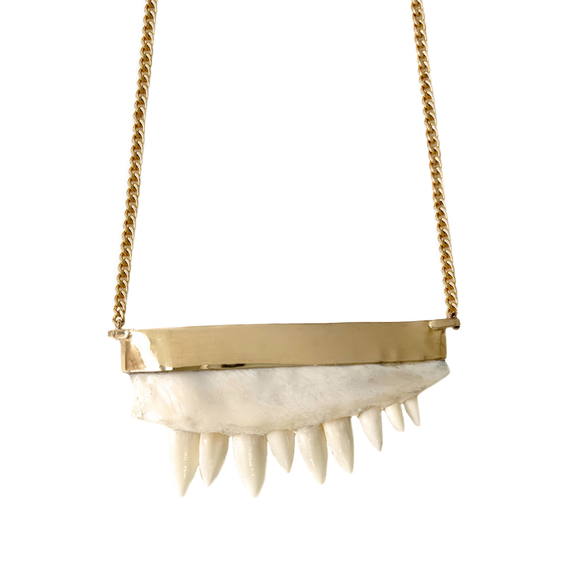 OSSO JAW NECKLACE