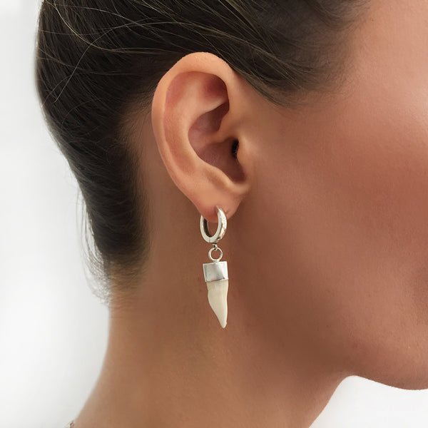 BARRACUDA TOOTH EARRING