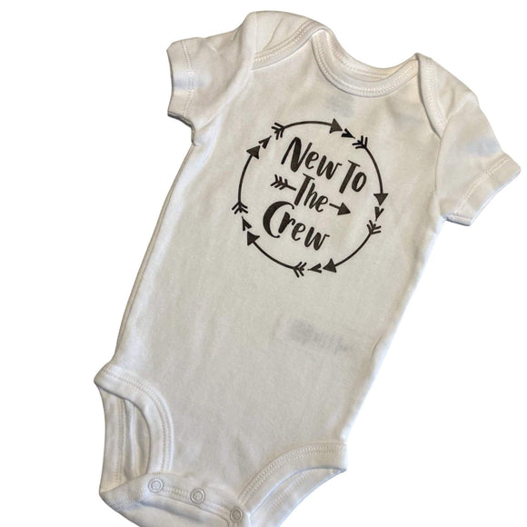 NEW TO THE CREW Onezie Bodysuit