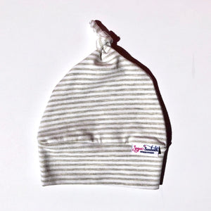 Topknot Grow Along® Baby Hat - Sugar Sandwich Design