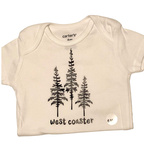 WEST COASTER Onezie Bodysuit