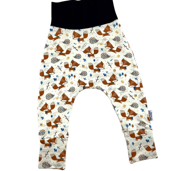 Cute Fox TODDLER Harem Grow Along® Pants Organic Cotton