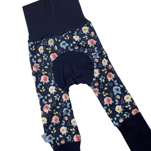 Pink Rose Floral Grow Along Babywear® Pants