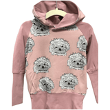 Pink Puppy Grow Along® Hoodie Organic Cotton