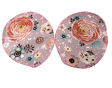 Floral Print Organic Cotton Waterproof Nursing Pads