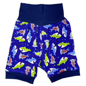 SHARKS Grow Along Shorts