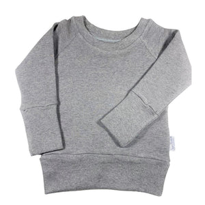 Growth Spurt Crew Neck Sweater Basic Coordinates Neutral Tones