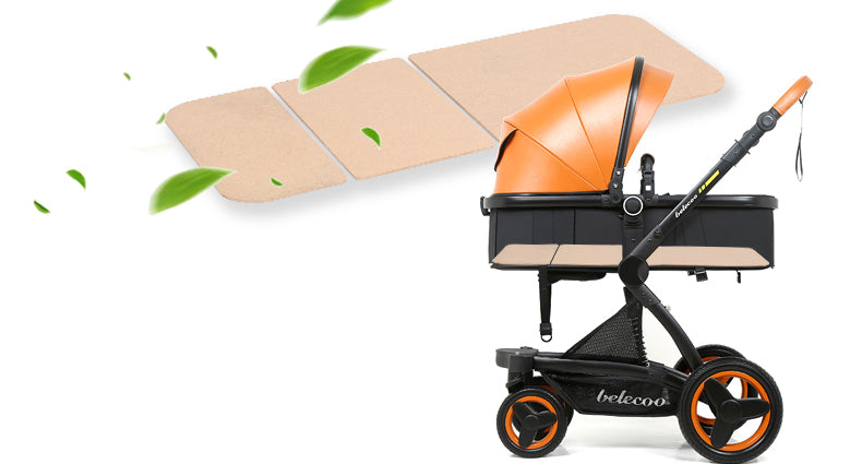 Belecoo Brand Luxury Baby Stroller 3 in 1 Travel System With Infant Seat