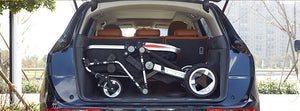 Twins Baby Stroller With Two Bassinets And Two Car Seats Foldable Travel System