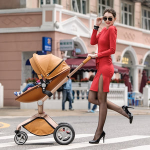 Hot Mom Brand 3 in 1  Baby Stroller 2017 travel system and Bassinet Combo
