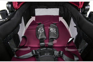 For Baby Brand Luxury Baby Stroller 3 in 1 High Landscape Baby Carriages Pram
