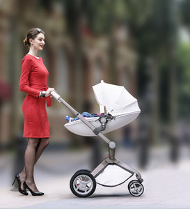 Luxury Baby Carriage High Landscape 3 In 1 Baby Stroller With Crib And Car Seat For Newborns Portable Folding Baby Prams