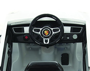 Porsche Macan 6V Battery-Operated Ride-On Ride On, White