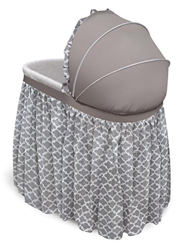 Oval Bassinet Full Length Lantern Skirt