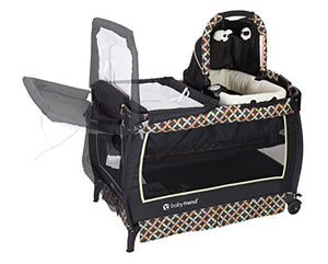 Twin Nursery Center Diaper Changing Crib Basket Double Size For Two Babies