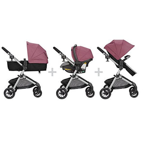 3 In 1 Luxury 2018 Baby Stroller With Car Seat And Base Fashion
