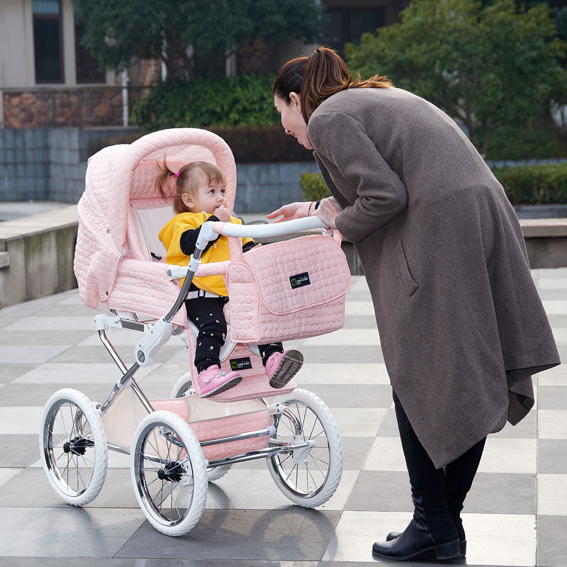 Coolbaby Europe baby stroller baby two-way Reduce vibration trolley luxury high-profile BB carriage babe four-wheeled cart