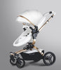 Luxury Leather Max Of Aulon Brand Baby Stroller High Landscape Baby Carriage