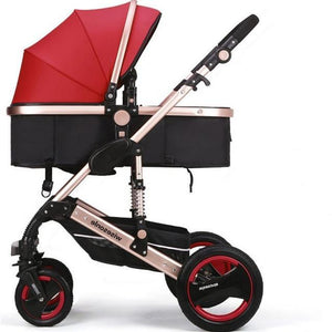 baby stroller, 0--36 months stroller 8 color choices Inflatable Natural Rubber Wheels Four Wheel
