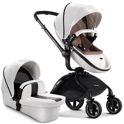 Pouch Brand Leather Baby Stroller 0 3 Years Pram