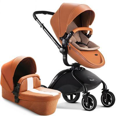 Pouch Brand Leather Baby Stroller 0-3 Years Pram
