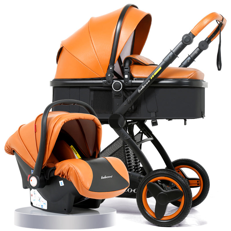 Belecoo Brand Luxury Baby Stroller 3 in 1 Travel System ...