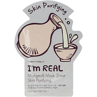 TONY MOLY I'M REAL MASK SHEET - MAKGEOLI