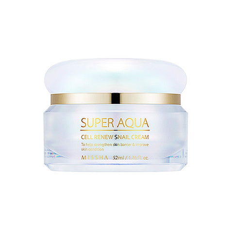 MISSHA SUPER AQUA - CELL RENEW SNAIL CREAM