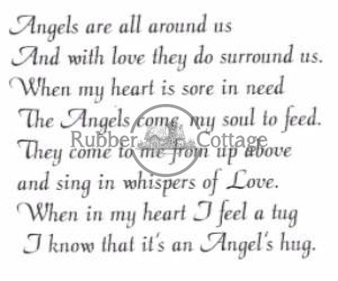 Angels Rubber Stamp