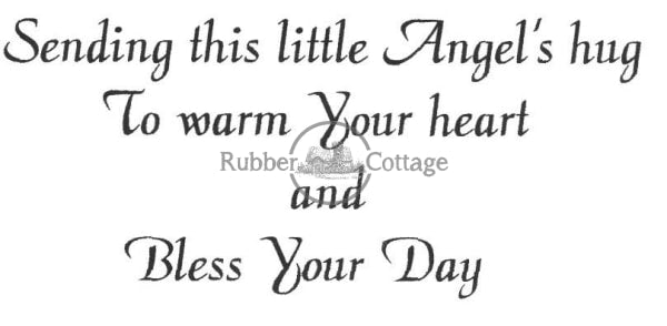 Bless Your Day Rubber Stamp