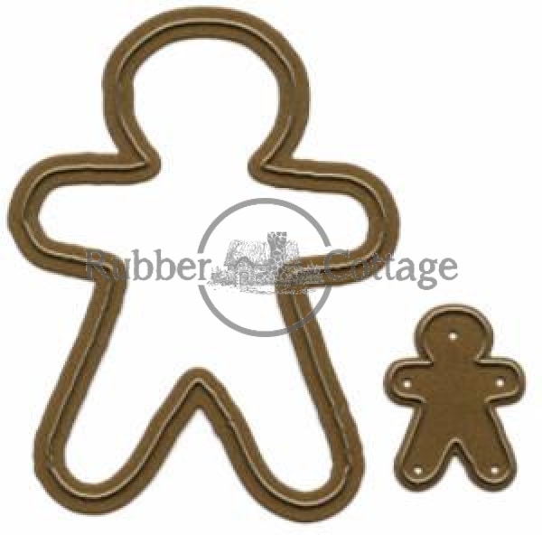 Gingerbread Boys Dies Metal Die