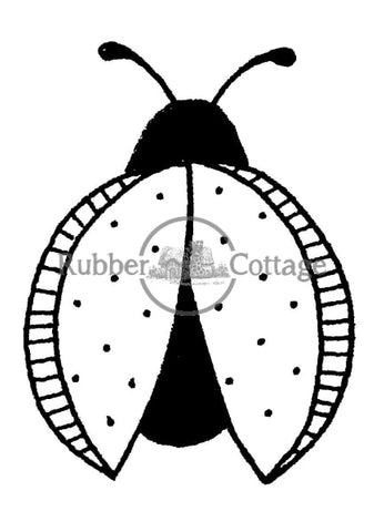 Lady Bug 1 Rubber Stamp