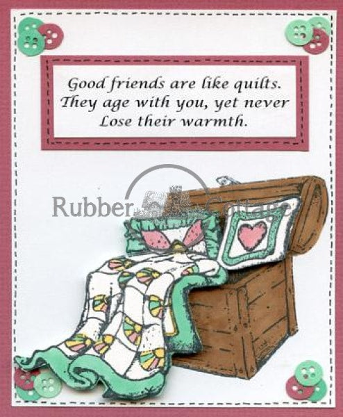 Quilters Stamp Set Rubber