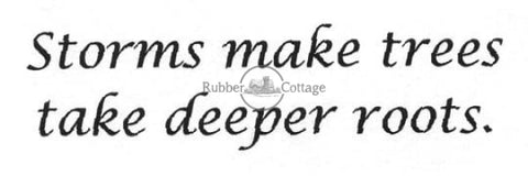 Storms Rubber Stamp