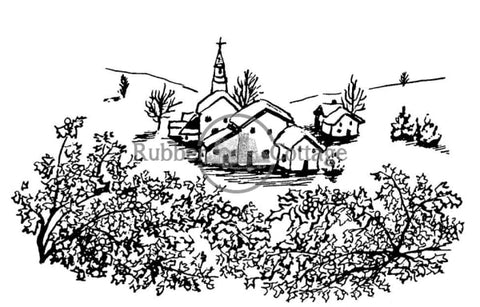 Village Rubber Stamp