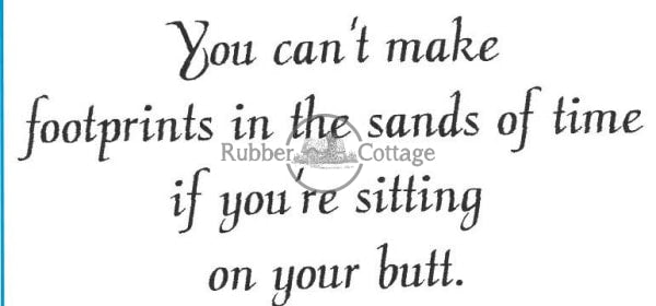 You Cant Rubber Stamp