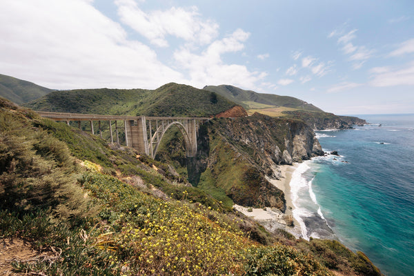 Bixby Bridge Oceanside