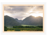 Hawaiian Mountain Sunset
