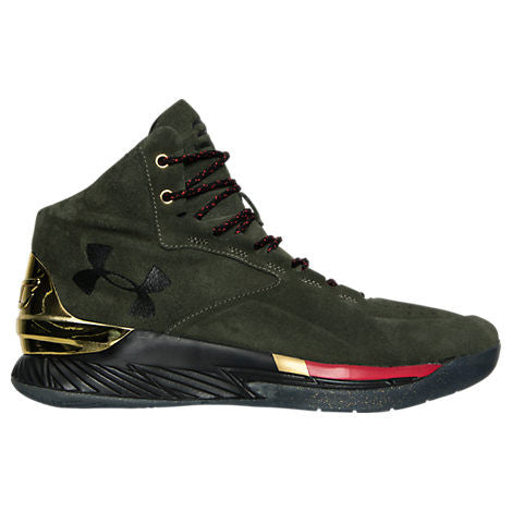 Under Armour Curry 1 Luxury Mid Suede Basketball Shoe